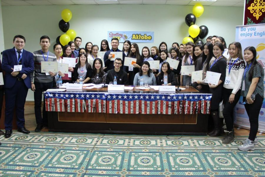 "24 November, 2018Next   ""Spelling Bee"" contest was hold at the American Corners in Aktobe, Petropavl and Pavlodar."